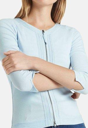 MARC CAIN DAMEN STRICKJACKE 3/4-ARM - Cardigan - light blue