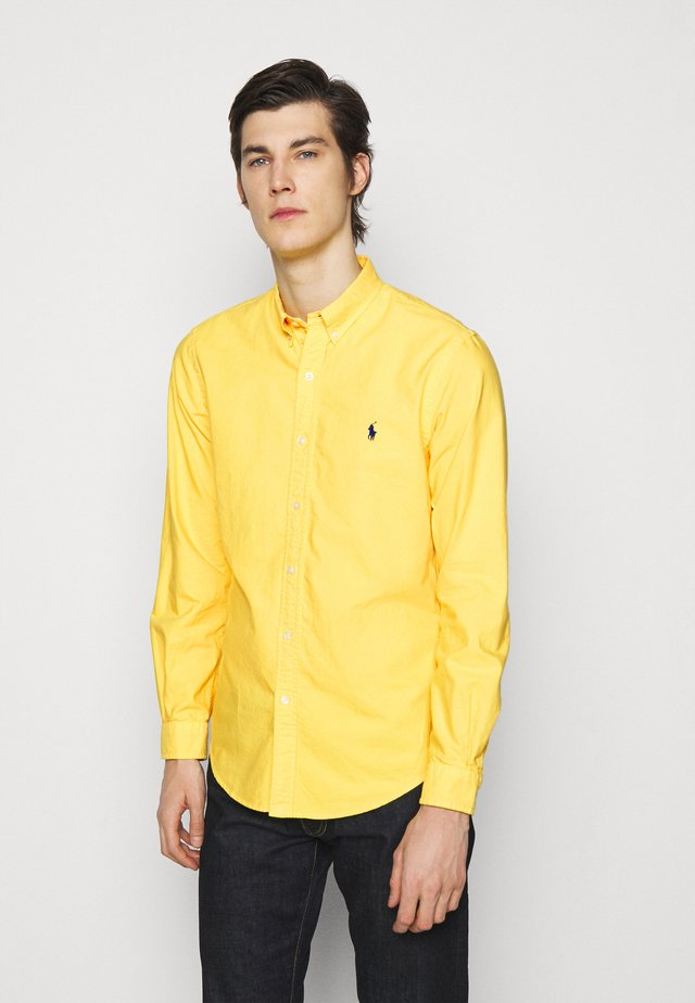 LONG SLEEVE SPORT - Camicia - signal yellow
