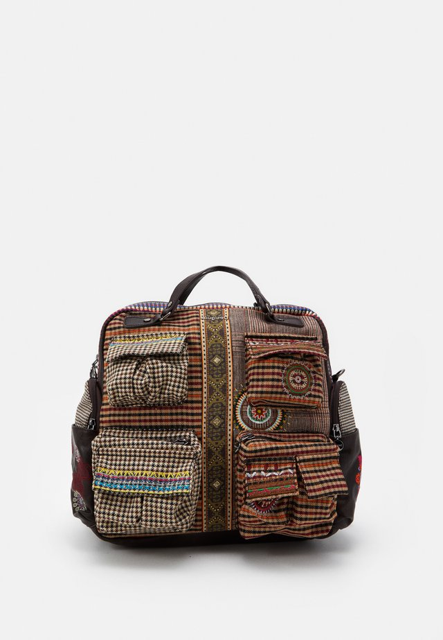 BACK MILDRED RIBE - Mochila - brown