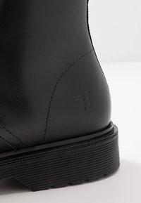 Trussardi Jeans - Snørestøvletter - black - 5