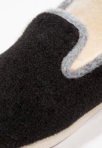 Espadrij l´originale - CHALET TRADITIONAL - Tofflor & inneskor - noir/gris - 5