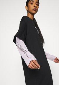 Weekday - TRACY DRESS - Jersey dress - black - 4