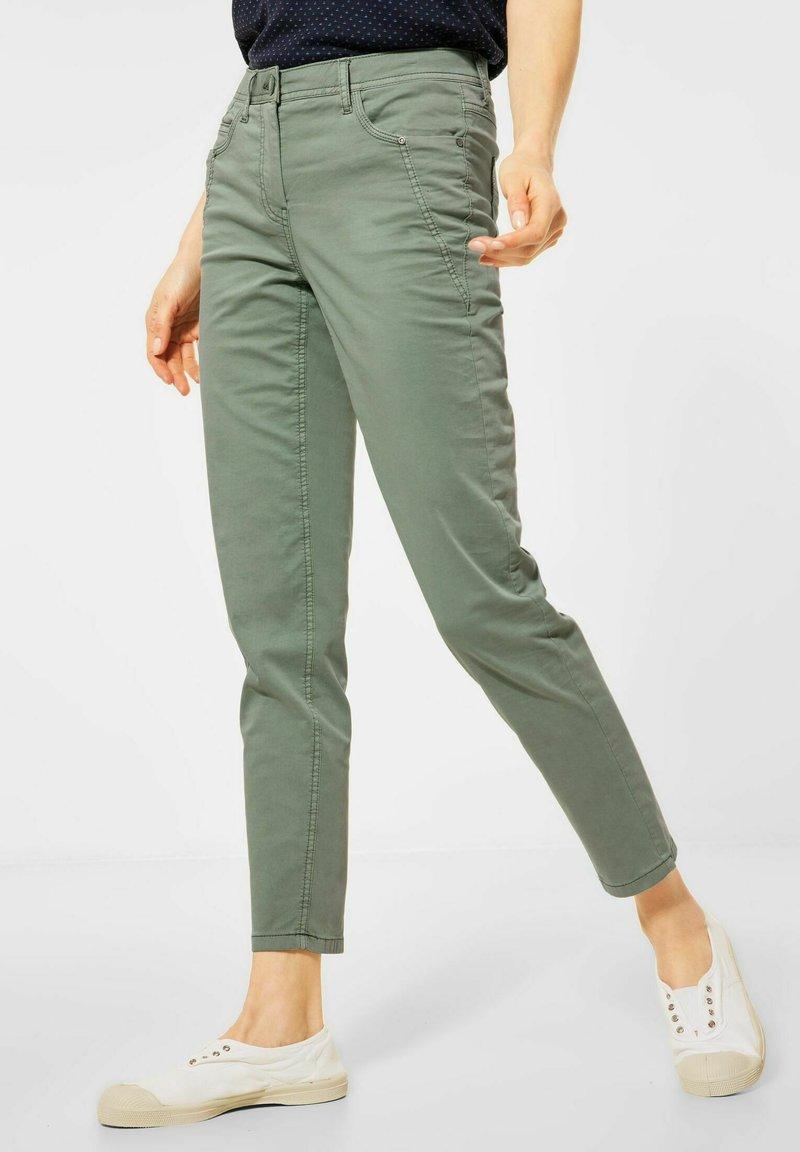 Cecil - Trousers - grün