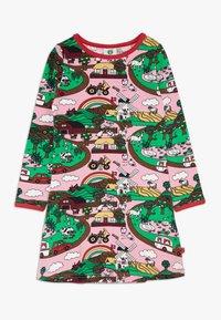 Småfolk - DRESS LANDSCAPE - Jersey dress - sea pink - 0