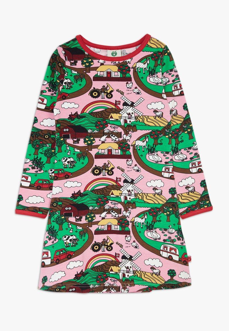 Småfolk - DRESS LANDSCAPE - Jersey dress - sea pink