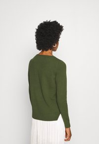 Marc O'Polo - LONGSLEEVE BASIC WITH ROUNDNECK - Jumper - lush pine - 2
