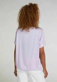 Oui - Basic T-shirt - orchid petal - 2