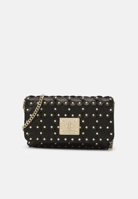 Red V - FLOWER PUZZLE WALLET ON CHAIN - Clutch - black - 0