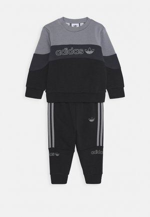CREW  - Tracksuit - grey/black