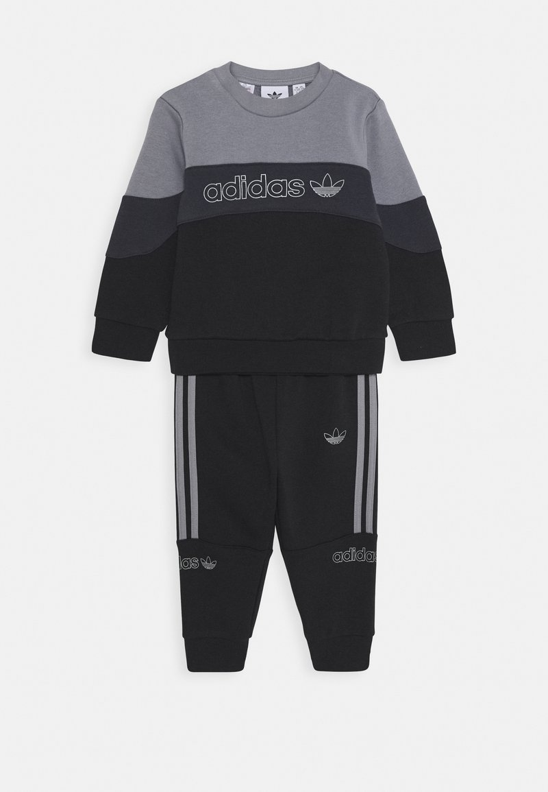 adidas Originals - CREW  - Trainingsanzug - grey/black