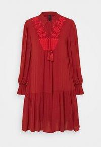 YAS Petite - YASCILLA DRESS BOHO - Kjole - red ochre - 0