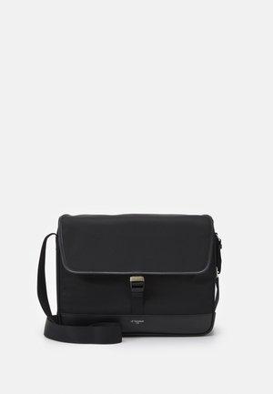 GASPARD LARGE MESSENGER UNISEX - Across body bag - noir