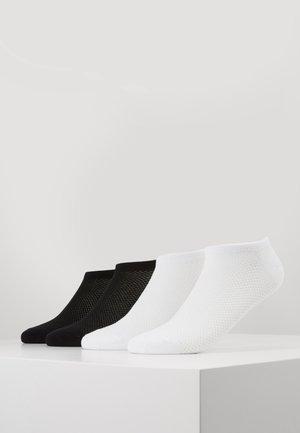 WOMEN FASHION SNEAKER 4 PACK - Socken - black