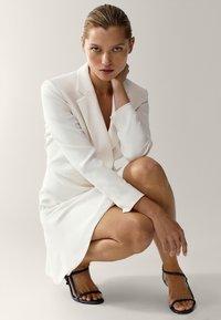 Massimo Dutti - MIT VOLANT - Day dress - white - 3