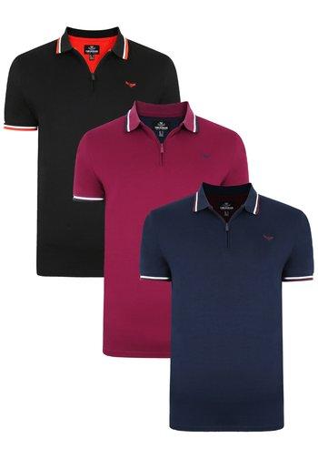 3PACK - Poloshirt - multi