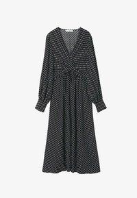Mango - Maxi dress - zwart - 5