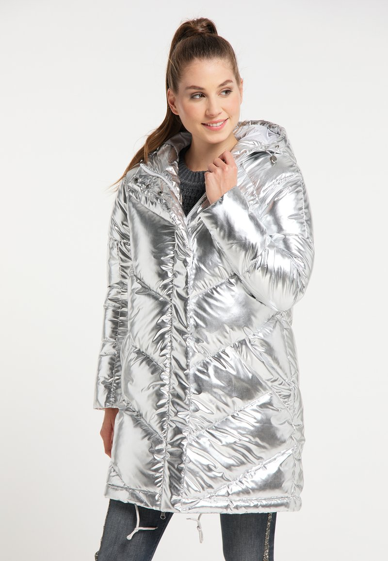 myMo - Winter coat - silber