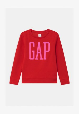 GIRL LOGO - Sweatshirt - pure red