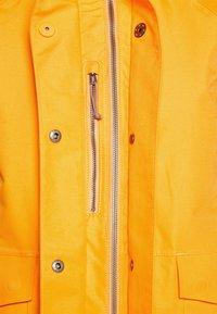 Didriksons - Hardshell jacket - saffron yellow - 4