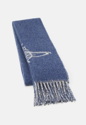 SCARF - Šála - denim blue