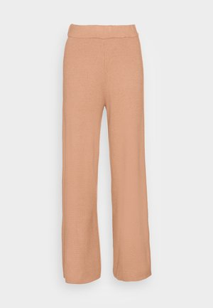 ONLNEW DALLAS PANTS - Trousers - burro melange