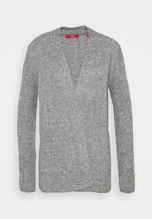 LANGARM - Chaqueta de punto - grey