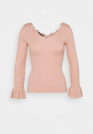 Sweter - powder pink