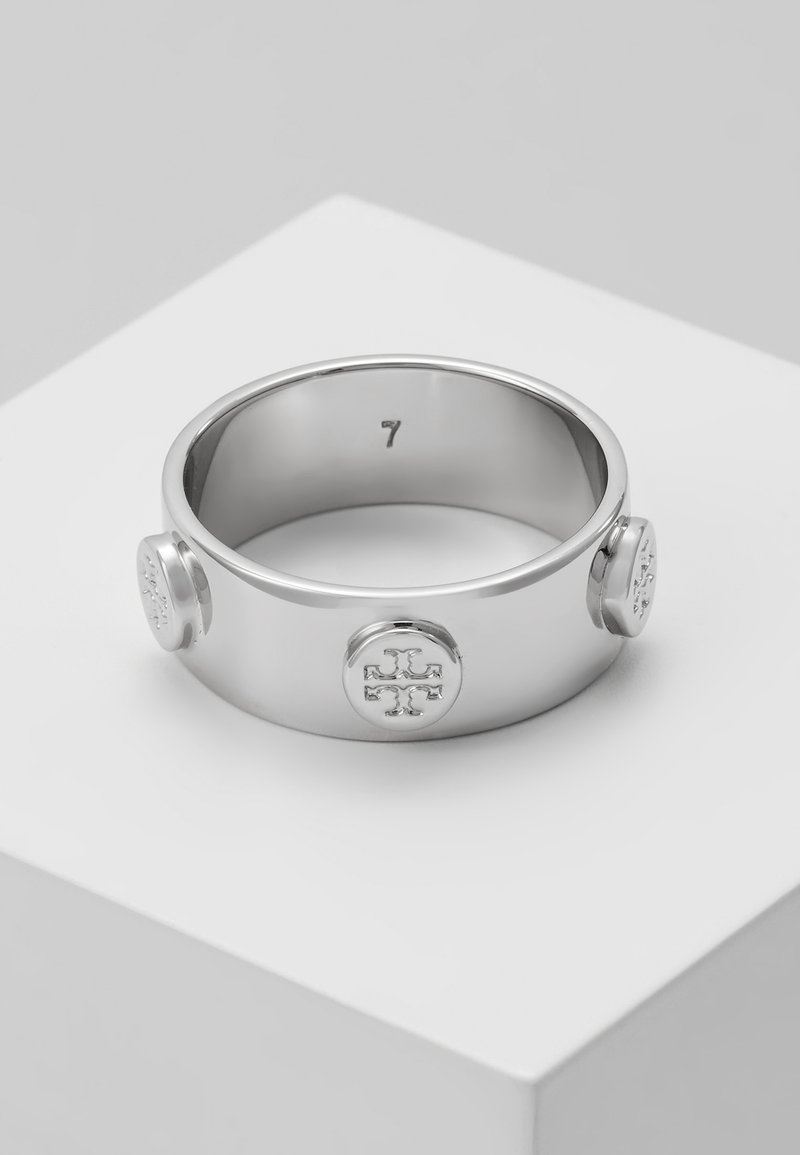 Tory Burch - LOGO  - Bague - silver-coloured