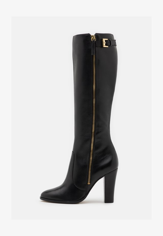 NELIOTA - High heeled boots - noir