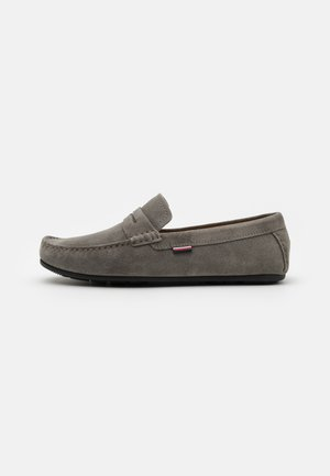 CLASSIC DRIVER - Moccasins - pewter grey
