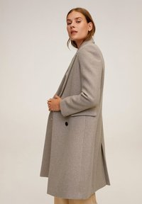 Mango - DALI - Classic coat - coffee
