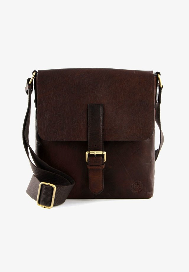 VERDAL  - Across body bag - dark brown