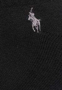 Polo Ralph Lauren - BLEND EMBRO 6 PACK - Skarpety - black - 1