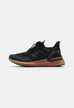 ULTRABOOST 20 UNISEX - Neutral running shoes - core black/core black/signal pink