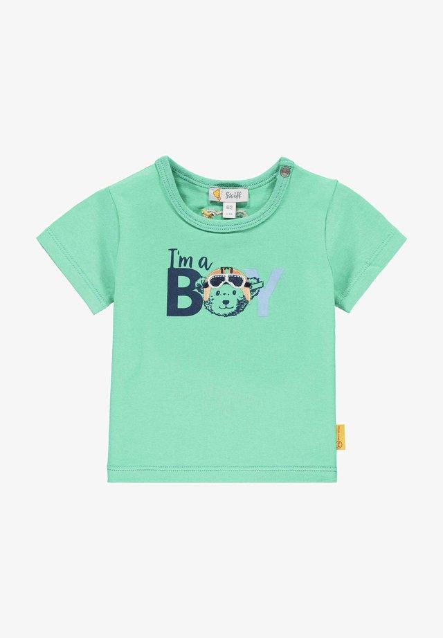 T-shirt print - winter green