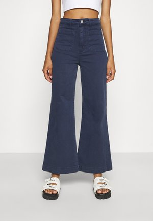 SAILOR JEAN - Flared Jeans - navy