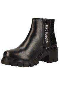 Steve Madden - Platform ankle boots - black snake 967 - 2
