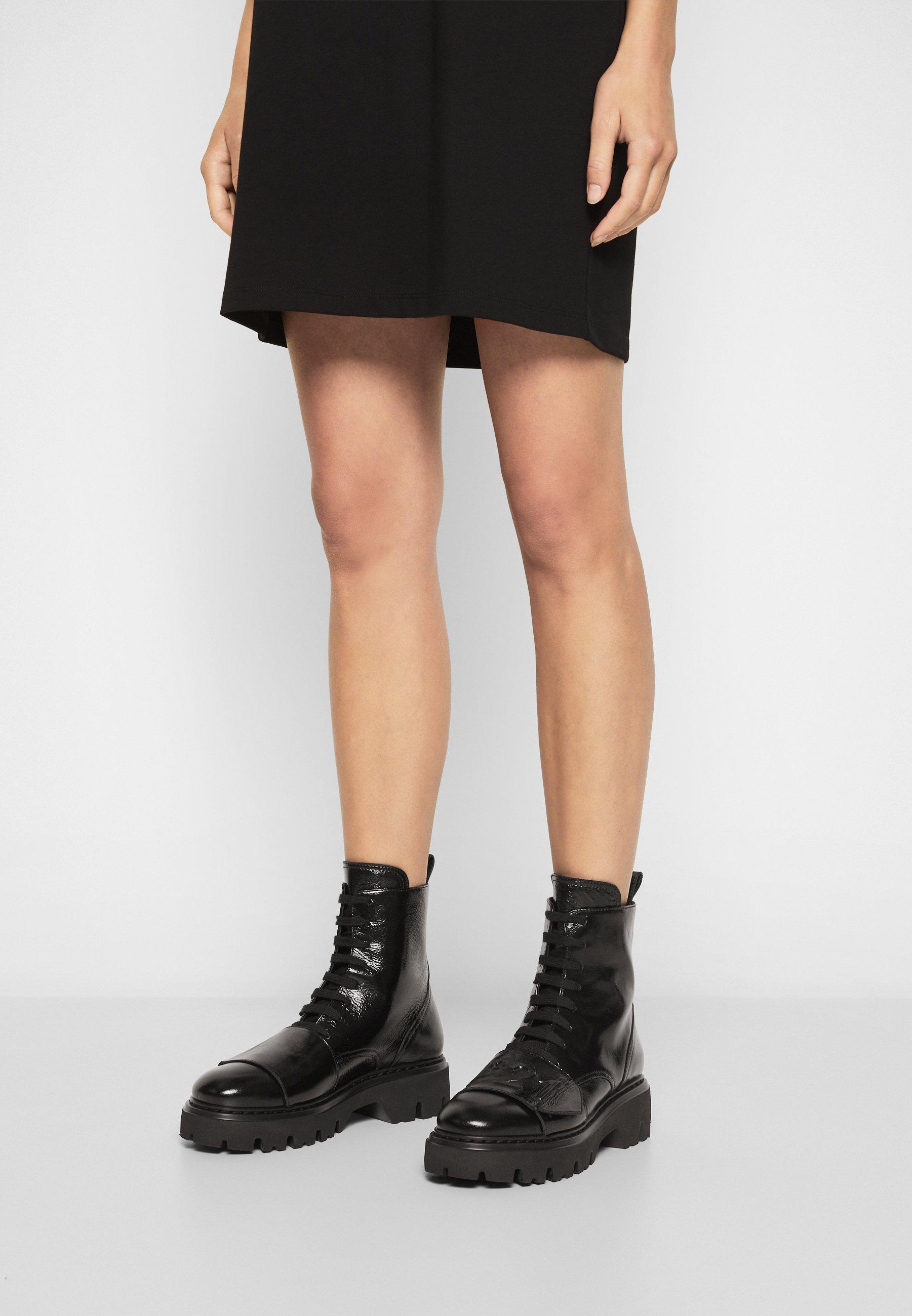 Women BOOTS - Platform ankle boots