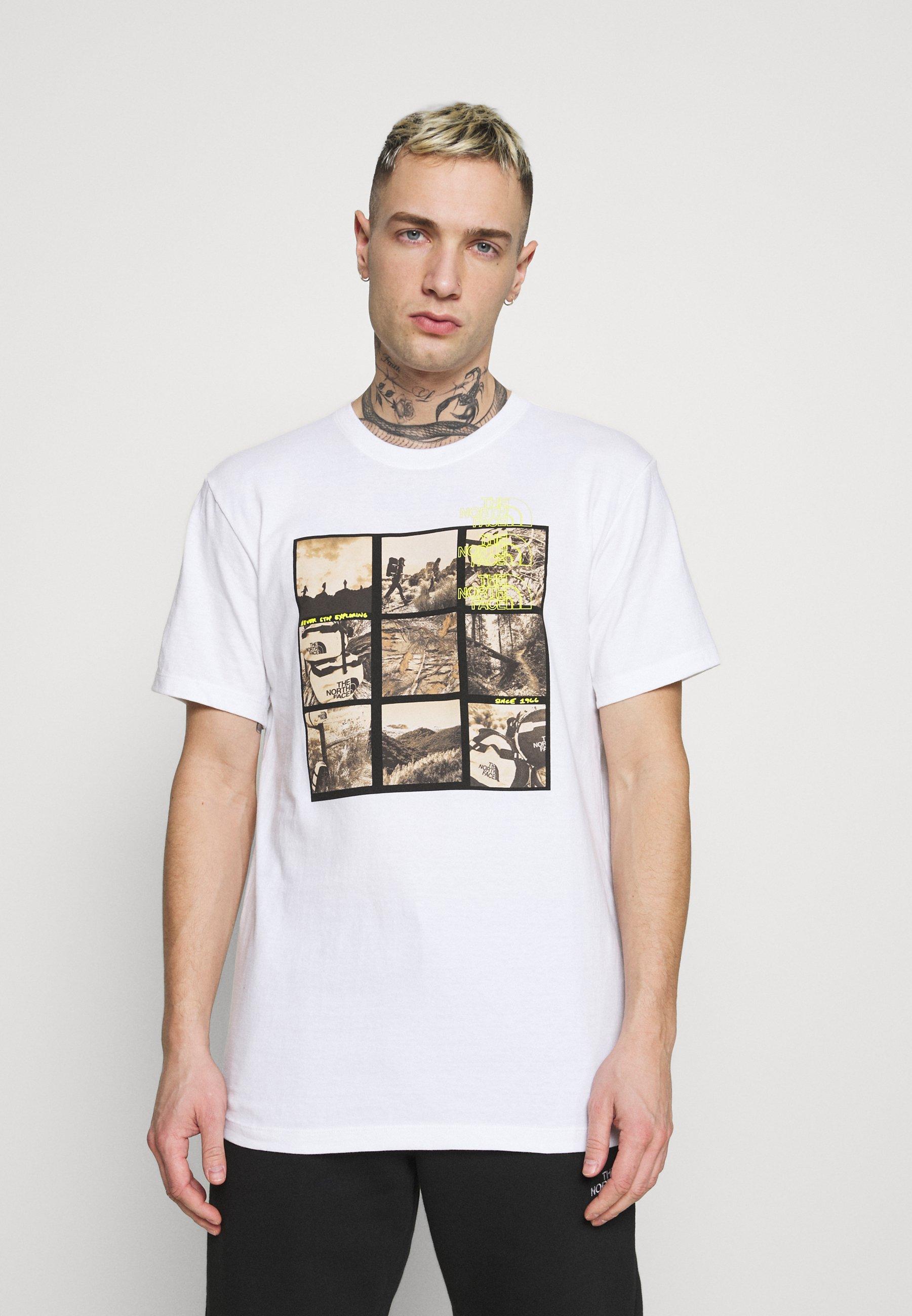 Men BASE FALL GRAPHIC TEE - Print T-shirt