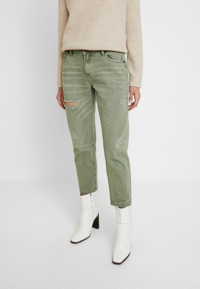 AWESOME BAGGIES - Jeans straight leg - super khaki