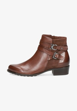 Classic ankle boots - dk brown/comb