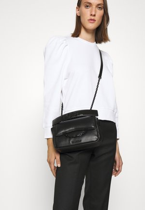 SEVEN SOFT SHOULDER - Across body bag - black
