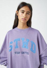 PULL&BEAR - Sweatshirts - purple - 3