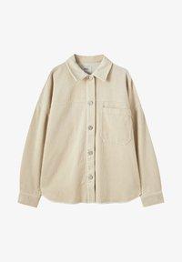 PULL&BEAR - Button-down blouse - mottled beige - 10
