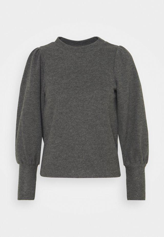 VMKINSEY PUFF  - Sweter - dark grey melange