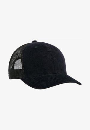 CORDUROY RETRO TRUCKER - Cap - black