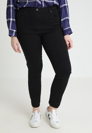 LEXI HIGH WAIST SUPER SOFT LEG - Jeans slim fit - black