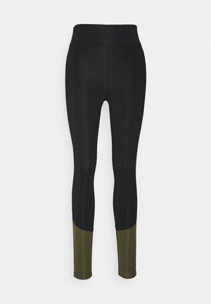 Legging - black/khaki