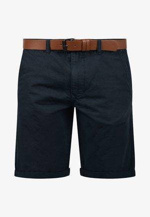CHINOSHORTS MONTIJO - Shorts - blue