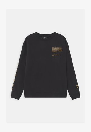 CREW  - Collegepaita - black/gold